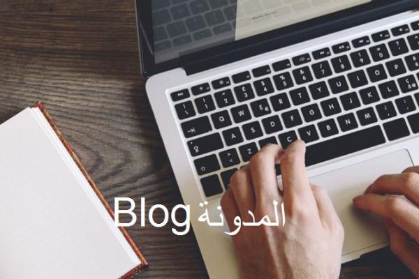 المدونة