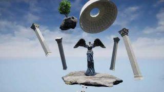 UE4 Garten des Himmels